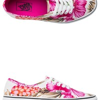 VANS HAWAIIAN FLORAL AUTHENTIC SHOE