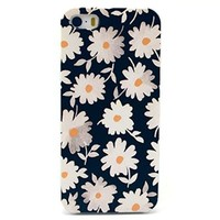 """Cute funny Picture Hard Back Case Cover Skin For Apple iPhone5 5G 5S -Beautiful white daisy (Package includes: 1 X Screen Protector and Stylus Pen image""""Gift_Source"""")"""
