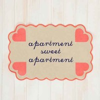 Plum & Bow Apartment Sweet Apartment Printed Mat- Multi 2X3