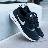 Nike Air Max Thea Black/White Casual Sports Shoes