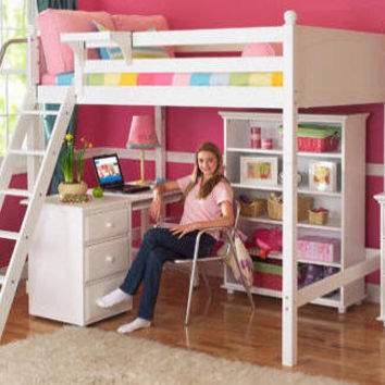 Stella Full Size Loft Bed