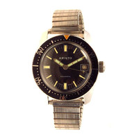 Vintage Aristo Watch Automatic Diver Stainless Steel