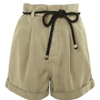 Rope Detail Casual Shorts