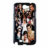 Harry Styles One Direction Collage Clothes Off Samsung Galaxy Note 2 Case