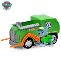 Paw Patrol dog car Rockys Rescue Vehicle and Figure figure toy Puppy Dog Patrol Car patrulla Patrulla Kids Toys Dog Genuine