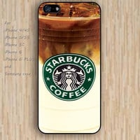 iPhone 5s 6 case Iced Coffee colorful phone case iphone case,ipod case,samsung galaxy case available plastic rubber case waterproof B373