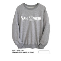 Halloween TShirt Sweatshirt Cool Unisex Sweatshirt Mens Street Style Look Fashion Sweatshirts for Women Jumper Pullover Gift Ideas