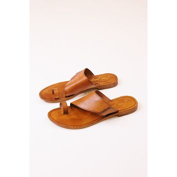 Sant Antoni Slide Sandal, Luggage Tan | Free People