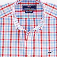 Stanley Gingham Whale Shirt