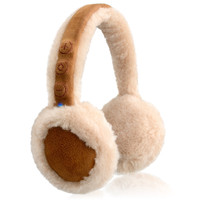 NoiseHush BT500 Bluetooth Earmuff Headphones with Mic - Brown