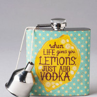 Life Gives You Lemons Flask
