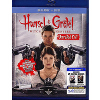 Walmart: Hansel And Gretel: Witch Hunters (Rated/Extended) (Blu-ray + DVD + 2 Digital Movies) (Walmart Exclusive)  (Widescreen)