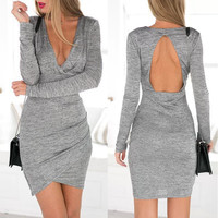 New Fashion Summer Sexy Women Mini Dress Casual Dress for Party and Date = 4432094980