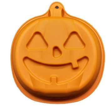 Halloween DIY Cake Baking Mold Pumpkin Silicone Mold Fondant Baking Chocolate Cake Decoration Tool