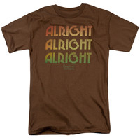DAZED AND CONFUSED/ALRIGHT Z - S/S ADULT 18/1 - COFFEE - MD - Coffee - MD