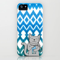 iKat iCat iPhone & iPod Case by micklyn