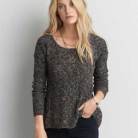 AEO Textured Jegging Sweater , Oatmeal