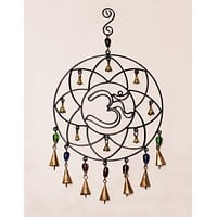 Cosmic Om Beaded Bell Chime