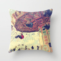 Up up and away! Throw Pillow by Sylvia Cook Photography   Society6