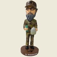 Duck Dynasty Bobble Head-Uncle Si with Tea Jug and Plastic Cup