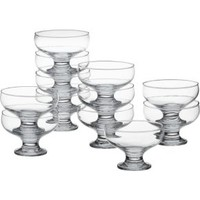 "Footed 4.25"" Dessert Dishes (Set of 12)"