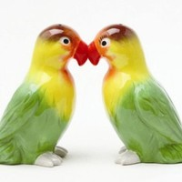 Love Birds Magnetic Salt and Pepper Shakers