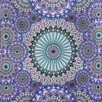 Sunshine Joy 3D Geometric Rings Tapestry Tablecloth Beach Sheet 60x90 Inches - Ring Of Water