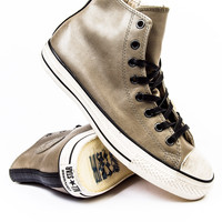 John Varvatos x Converse CT Burnished Drill Leather Sneaker