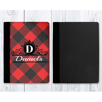 Customized Notebooks | Personalized Office Accessories | Personalized Journal | Buffalo Plaid