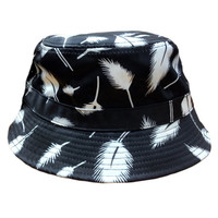 Fly Bucket Hat in Black