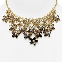 """kate spade new york Ombre Bouquet Statement Necklace, 18"""""""