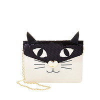 CRAY CRAY CREATURES KITTY CLUTCH: Betsey Johnson