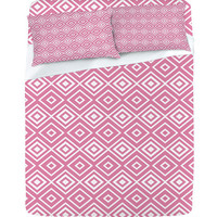 DENY Designs Home Accessories   Lisa Argyropoulos Diamonds Are Forever Blush Sheet Set