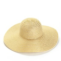 Gold Sunshine And Sparkle Floppy Hat