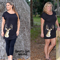 sexy and casual black deer hunting dress womens hunting cute clothing