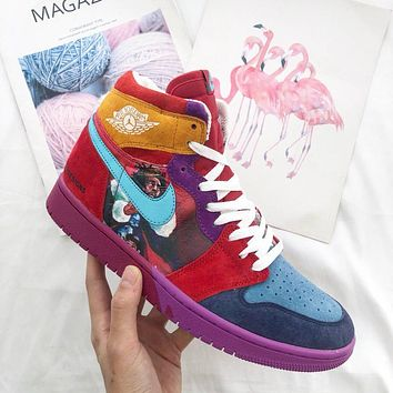 Air Jordan 1 Mid Yots Aj1 @fofdesigns 558059 101