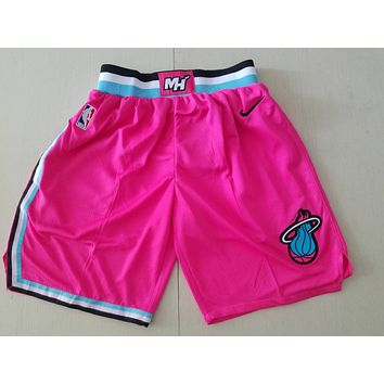 Miami Heat Pink Fashion Basketball Swingman Short