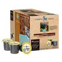 Caribou Daybreak Morning Blend Coffee For Keurig K-Cup Brewers 18 Count