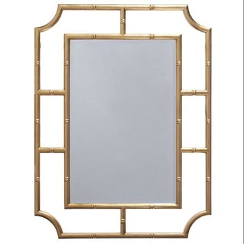Marian Gold Mirror by Worlds Away
