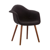 Cashmere Charcoal Arm Chair