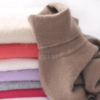 2018 autumn winter female Knitted Cashmere sweater women thickening turtleneck jumper pull femme women sweaters and pullovers