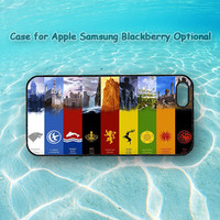 song of ice and fire for iphone 5 case, iphone 4 case, ipod case, Samsung note 2, Samsung S3, Samsung S4, blackberry Q10, blackberry z10