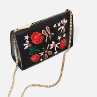 EMBROIDERED CLUTCH Look+: 4 of 4