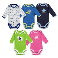 Unisex Baby Rompers Spring Baby Girl Clothes born Baby Clothes Long Sleeve Infant Baby Boy Jumpsuits