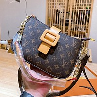Louis Vuitton LV hot style trendy square bag classic shoulder bag