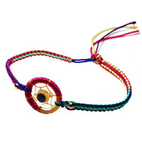 Colorful Dream Catcher Bracelet (Handmade)