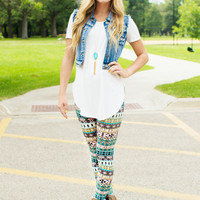 Get In My Closet Tunic - Ivory