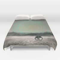 Spinning Out of Nothingness Duvet Cover by Soaring Anchor Designs | Society6