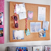 No Nails Rectangular Pinboard