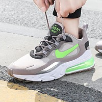 Hipgirls NIKE AIR MAX 270 REACT Fashion New Hook Sports Leisure Running Shoes Men Gray